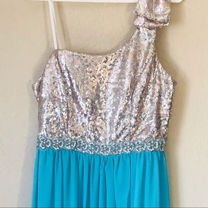 Deb Turquoise Dress Size 14